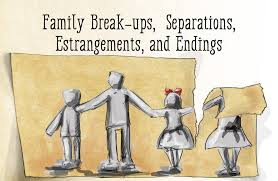 Family estrangement and betrayal